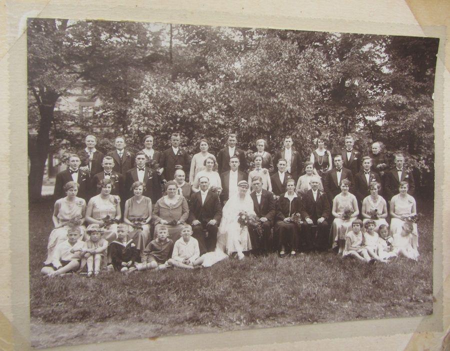 Hochzeitsfoto Spremberg 1930